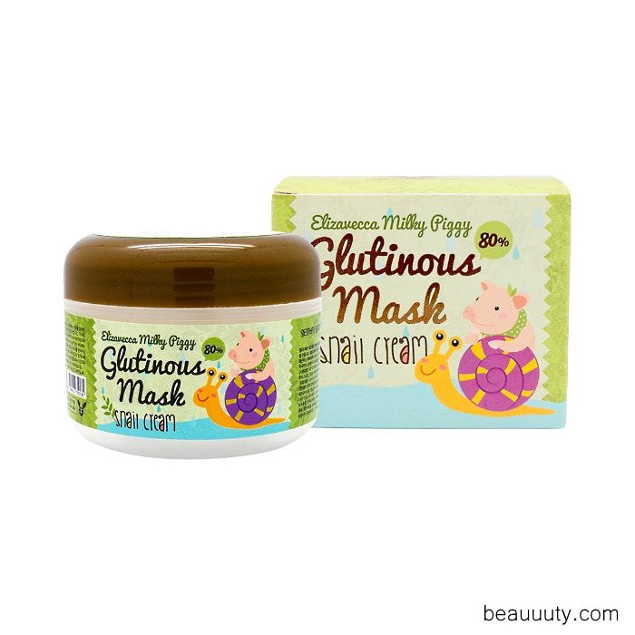 Milky Piggy Glutinous Mask 80% Snail Cream 100ml 3