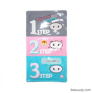 Pig-Nose Clear Black Head 3-Step Kit x1